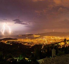 Η νύχτα έγινε μέρα - Δεκαπενταύγουστος με 3000 κεραυνούς στην Ελλάδα (φώτο) - Κυρίως Φωτογραφία - Gallery - Video