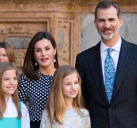 Όταν λέμε σικ αυτό εννοούμε: Με μπλέιζερ και loafers το βασιλικό ζεύγος της Ισπανίας επισκέπτεται τον μπαμπά στο νοσοκομείο (φώτο) - Κυρίως Φωτογραφία - Gallery - Video