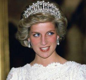 Lover's Knot Tiara: η αγαπημένη τιάρα της αξέχαστης Πριγκίπισσας Νταϊάνα! - Κυρίως Φωτογραφία - Gallery - Video
