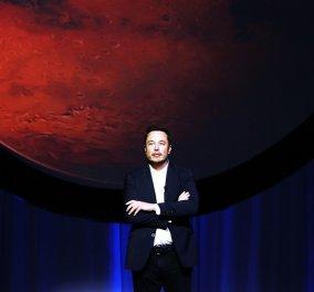 Τρελάθηκε το αφεντικό: Ο Ίλον Μασκ θέλει πυρηνικό βομβαρδισμό του Άρη για να γίνει κατοικήσιμος και να κτίσει (βίντεο) - Κυρίως Φωτογραφία - Gallery - Video