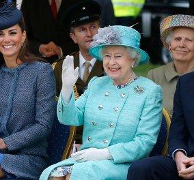 Κέιτ Μίντλετον VS βασίλισσα Ελισάβετ - Η νεαρή με υπερσυντηρητικό look - η 93χρονη μονάρχης με έξαλλο φούξια (φώτο)  - Κυρίως Φωτογραφία - Gallery - Video