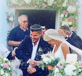 Μαρία Φραγκάκη: Μόλις παντρεύτηκε τον αγαπημένο της σε ξωκλήσι στην Πάρο - Οι φώτο  - Κυρίως Φωτογραφία - Gallery - Video