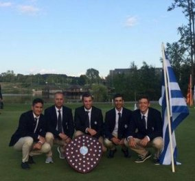 Μεγάλη επιτυχία για την εθνική μας ομάδα γκολφ - Κέρδισε το χρυσό μετάλλιο στο ευρωπαϊκό πρωτάθλημα στη Λιθουανία (φώτο) - Κυρίως Φωτογραφία - Gallery - Video