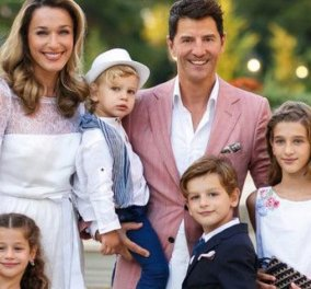 Το αγαπημένο διάσημο ζευγάρι με τα 4 παιδιά σε ρομαντικό escape: Σάκης Ρουβάς & Κάτια Ζυγούλη (φωτό) - Κυρίως Φωτογραφία - Gallery - Video