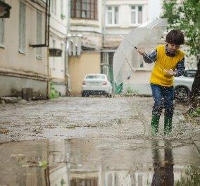 Καιρός:Φθινοπωρινό σκηνικό στη καρδιά του Αυγούστου - Βροχές καταιγίδες & πτώση της θερμοκρασίας  - Κυρίως Φωτογραφία - Gallery - Video