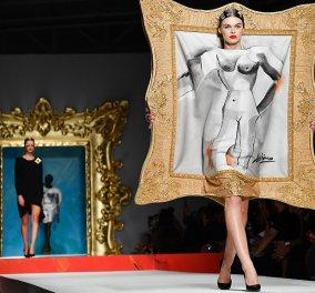 Οι πίνακες του Πάμπλο Πικάσο πηγή έμπνευσης του Moschino - Γέμισε χρώματα η πασαρέλα του Μιλάνο (φώτο-βίντεο) - Κυρίως Φωτογραφία - Gallery - Video