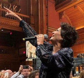 Άλκηστις Πρωτοψάλτη: Διθύραμβοι και ενθουσιώδες κοινό στις συναυλίες στο Χάρβαρντ & στη Νέα Υόρκη - Αποκλειστικές φώτο & βίντεο - Κυρίως Φωτογραφία - Gallery - Video
