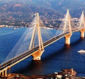 15 χρόνια γέφυρα Ρίου-Αντιρρίου: 61 εκατομμύρια διελεύσεις - 9 διεθνή βραβεία (φώτο-βίντεο) - Κυρίως Φωτογραφία - Gallery - Video