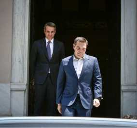 """Κυρ. Μητσοτάκης για Τσίπρα & Novartis: """"Εγώ τους πολιτικούς μου αντιπάλους δεν τους στέλνω στα δικαστήρια"""" - Κυρίως Φωτογραφία - Gallery - Video"""