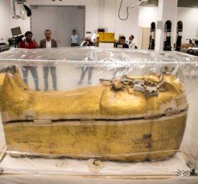 Αίγυπτος: Ο Φαραώ Τουταγχαμών κι άλλες δύο μούμιες εκτός σαρκοφάγου - Δείτε το βίντεο - Κυρίως Φωτογραφία - Gallery - Video
