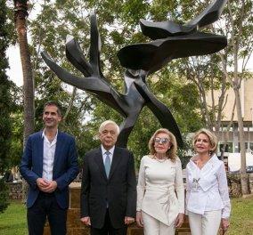 """""""Ανθίζει"""" & στην Αθήνα το """"Δέντρο της Ειρήνης"""" - Το εμβληματικό γλυπτό της Unesco δωρεά του συλλόγου """"Ελπίδα"""" (φώτο-βίντεο) - Κυρίως Φωτογραφία - Gallery - Video"""