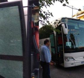 """Παραδόθηκε στην αστυνομία ο """"πιστολέρο"""" που πυροβόλησε το τουριστικό λεωφορείο στο """"Caravel"""" - Γιατί το έκανε - Κυρίως Φωτογραφία - Gallery - Video"""