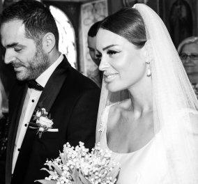 Ο λαμπερός γάμος του γνωστού κομμωτή Βασίλη Διαμαντόπουλου με τη Νεκταρία Μπέσσα - Το υπέροχο νυφικό του Βασίλη Ζούλια (φώτο)   - Κυρίως Φωτογραφία - Gallery - Video