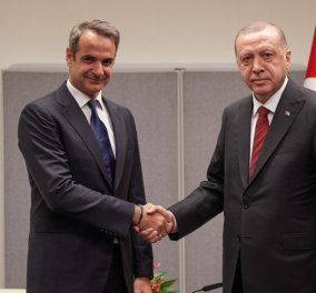 Μητσοτάκης - Ερντογάν: Συγκρατημένη αισιοδοξία στην κυβέρνηση - Νέο ξεκίνημα στα ελληνοτουρκικά «χωρίς τσαμπουκάδες» - Κυρίως Φωτογραφία - Gallery - Video