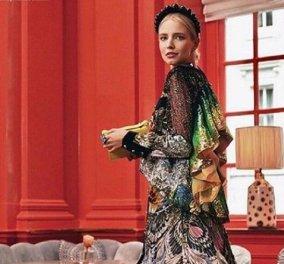 Leonie Hanne: Το πιο όμορφο κορίτσι της παγκόσμιας fashion industry με ονειρική δημιουργία της Μαίρης Κατράντζου (φώτο) - Κυρίως Φωτογραφία - Gallery - Video