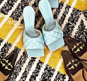 """Αυτή είναι η νέα τάση στη """"μύτη"""" των γυναικείων παπουτσιών - Εντελώς τετράγωνη λογική (φώτο) - Κυρίως Φωτογραφία - Gallery - Video"""