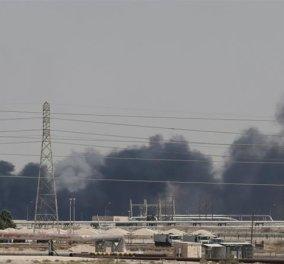 Παγκόσμια αναστάτωση στα Χρηματιστήρια μετά την επίθεση με drones  σε πετρελαιοπηγές της Σαουδικής Αραβίας - Κυρίως Φωτογραφία - Gallery - Video