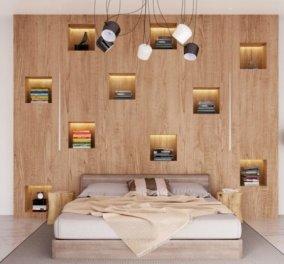 Ο Σπύρος Σούλης μας δείχνει: Πως μπορούμε να μετατρέψουμε το υπνοδωμάτιο μας και σε βιβλιοθήκη; - Κυρίως Φωτογραφία - Gallery - Video