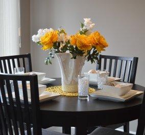 Ο Σπύρος Σούλης μας αποκαλύπτει 3 βασικούς τρόπους για να διακοσμήσουμε την τραπεζαρία μας με πρωτοτυπία - Κυρίως Φωτογραφία - Gallery - Video