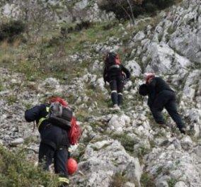 Νεκρός  νεαρός αστυνομικός που γλίστρησε σε χαράδρα της Αστράκας Ζαγορίου - Κυρίως Φωτογραφία - Gallery - Video