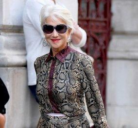 """Η Έλεν Μίρεν έχει επάξια τον τίτλο της """"Dame"""" - Η εμφάνιση της χρονιάς από μία 74χρονη (φώτο) - Κυρίως Φωτογραφία - Gallery - Video"""