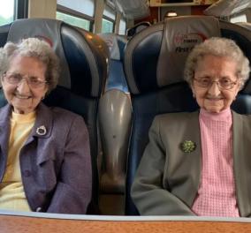 Τοpwomen: Οι γηραιότερες δίδυμες Hobday & το μυστικό της μακροζωίας τους – Ωμό λουκάνικο και μπύρα (φωτό) - Κυρίως Φωτογραφία - Gallery - Video