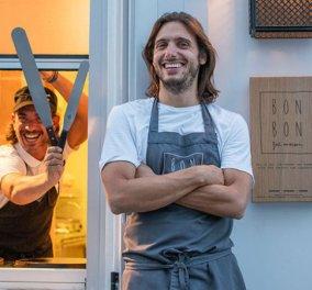Κρίτων Πουλής: O ωραίος Έλληνας, patissier δημιουργεί γλυκά  - όνειρο – Από το Παρίσι στον Πειραιά (φωτό) - Κυρίως Φωτογραφία - Gallery - Video