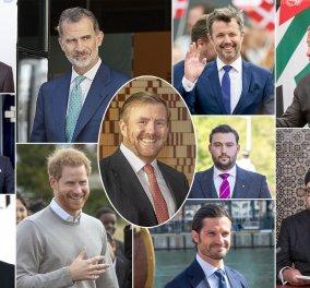 Μόδα στα Παλάτια: Όλοι οι βασιλιάδες & οι Πρίγκιπες άφησαν μούσι  - Δείτε τους γενειοφόρους εστεμμένους (φωτό) - Κυρίως Φωτογραφία - Gallery - Video