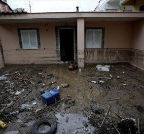 Η κακοκαιρία σάρωσε τη Β. Ελλάδα: Εννέα διασώσεις από την Πυροσβεστική (φωτό & βίντεο) - Κυρίως Φωτογραφία - Gallery - Video