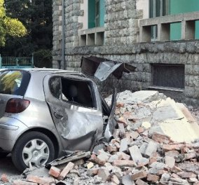 Σεισμός 5,8 Ρίχτερ σημειώθηκε στην Αλβανία - Τουλάχιστον 105 οι τραυματίες (φωτό & βίντεο) - Κυρίως Φωτογραφία - Gallery - Video