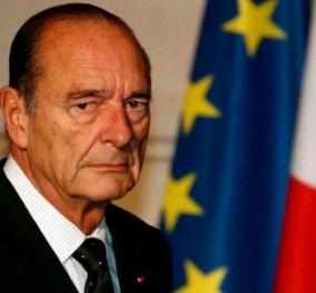 Απεβίωσε ο πρώην πρόεδρος της Γαλλίας Ζακ Σιράκ σε ηλικία 86 ετών!  - Κυρίως Φωτογραφία - Gallery - Video