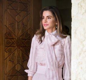 Βασίλισσα Ράνια της Ιορδανίας: Υπάρχει ένα αξεσουάρ που δεν αποχωρίζεται σε καμία από τις σικ εμφανίσεις της (φώτο) - Κυρίως Φωτογραφία - Gallery - Video