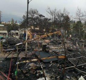 Εικόνες αποκάλυψης στη Σάμο: Φωτιά & συμπλοκές στο ΚΥΤ μεταναστών - Κλειστά όλα τα σχολεία σήμερα (φώτο-βίντεο) - Κυρίως Φωτογραφία - Gallery - Video