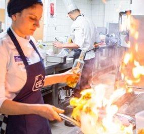 Topwoman η Ειρήνη Γιωργουδιού: Η 24χρονη Ροδίτισσα που ανακηρύχθηκε η καλύτερη νεαρή σεφ της Ευρώπης (φώτο)  - Κυρίως Φωτογραφία - Gallery - Video