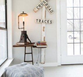 Ο Σπύρος Σούλης μας παρουσιάζει 10 τρόπους για να διακοσμήσουμε τις άδειες γωνίες του σπιτιού μας - (φωτό) - Κυρίως Φωτογραφία - Gallery - Video
