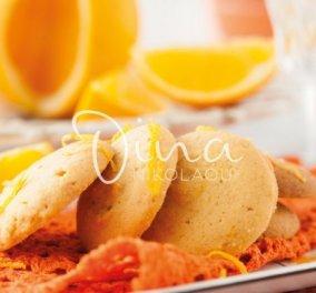 Ντίνα Νικολάου: Μας φτιάχνει πεντανόστιμα και γρήγορα cookies πορτοκαλιού - Κυρίως Φωτογραφία - Gallery - Video