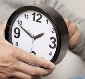 Αλλάζει η ώρα ξημερώματα Κυριακής: Tα ρολόγια μπαίνουν μία ώρα πίσω  - Κυρίως Φωτογραφία - Gallery - Video
