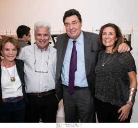 """Δημήτρης Χαντζόπουλος: """"Και διηγώντας τα να γελάς"""" - Εγκαίνια με Σημίτη Παπαχελά , Τσίμα , Πικραμμένο (φώτο) - Κυρίως Φωτογραφία - Gallery - Video"""