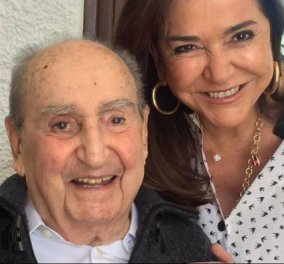 Η Ντόρα θυμάται τον μπαμπά της, Κωνσταντίνο Μητσοτάκη που θα γινόταν 101 – Πόσο μου λείπεις (φωτό) - Κυρίως Φωτογραφία - Gallery - Video