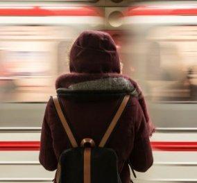 Σοκαριστικό βίντεο: Γυναίκα κοιτούσε το κινητό της & έπεσε στις ράγες του μετρό   - Κυρίως Φωτογραφία - Gallery - Video