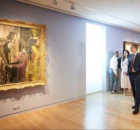 Κορυφαία στιγμή για τον ελληνικό πολιτισμό τα εγκαίνια του Μουσείου Γουλανδρή - Πικάσο , Σαγκάλ , Ελ , Γκρέκο - στην Αθήνα (φώτο-βίντεο)  - Κυρίως Φωτογραφία - Gallery - Video