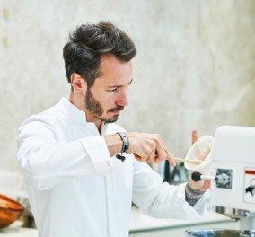 Όταν ο καλύτερος ζαχαροπλάστης του κόσμου ο Γάλλος Cedric Grolet με πάνω από 1 εκ. followers μας δείχνει τα κρουασάν του (φώτο) - Κυρίως Φωτογραφία - Gallery - Video