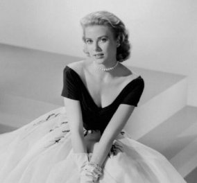 Vintage Beauty pic: Η  Γκρέις Κέλι με την πιο εντυπωσιακή Dior τουαλέτα που έχετε δει - Η πριγκίπισσα του Μονακό αιώνιο σύμβολο κομψότητας (φώτο) - Κυρίως Φωτογραφία - Gallery - Video