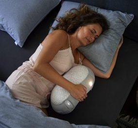 Ρομπότ-μαξιλάρι διώχνει τις αϋπνίες & υπόσχεται τον πιο γλυκό ύπνο - Φώτο & Βίντεο  - Κυρίως Φωτογραφία - Gallery - Video
