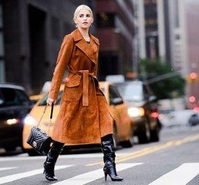 30 εντυπωσιακές προτάσεις για φθινοπωρινό Street style ντύσιμο (φώτο) - Κυρίως Φωτογραφία - Gallery - Video