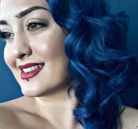 GNTM- το «plus size» μοντέλο με τα μπλε μαλλιά κατεπληξε με ποζες εκλαψε & θυμηθηκε : «Με έλεγαν χοντρή, βόδι» - Κυρίως Φωτογραφία - Gallery - Video