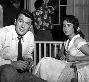 Υπέροχη Vintage Pic: Η Ελίζαμπεθ Τέιλορ με τον κούκλο γιο της - Ποιος γόης του σινεμά είναι μαζί τους;   - Κυρίως Φωτογραφία - Gallery - Video