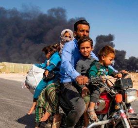 Συρία: Η τουρκική επίθεση έχει προκαλέσει τον εκτοπισμό 300.000 ανθρώπων (φωτό) - Κυρίως Φωτογραφία - Gallery - Video