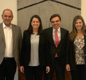 ΥΠΑΙΘ : Σε θερμό κλίμα η συνάντηση του Μαργαρίτη Σχοινά με τη Νίκη Κεραμέως & την ηγεσία του υπουργείου  - Κυρίως Φωτογραφία - Gallery - Video