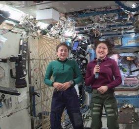 Kορίτσια πετάμε! Στις 21 Οκτωβρίου ο διαστημικός περίπατος της NASA αποκλειστικά για γυναίκες  - Κυρίως Φωτογραφία - Gallery - Video